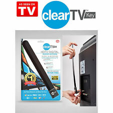 HOT CLEAR HD TV KEY FREE HD Digital TV Indoor Antenna Ditch Cable As Seen On TV