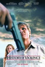 A HISTORY OF VIOLENCE MOVIE POSTER 2 Sided ORIGINAL 27x40 VIGGO MORTENSEN