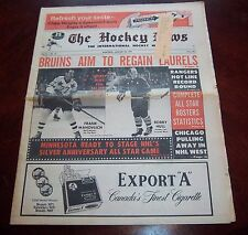 The Hockey News Bobby Hull / Frank Mahovlich All Star Game issue January 28 1972