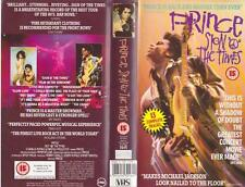 PRINCE SIGN OF THE TIMES VHS PAL VIDEO~ A RARE FIND