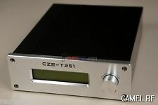 NEW! CZH-T251 87.5-108Mhz 0- 25W FM transmitter / FM stereo broadcast exciter