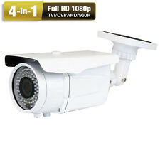 Sony CMOS CCD HDTVI Ture 2.6MP 1080P 2.8-12mm Zoom Lens Bullet Security Camera