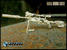 1/6 ZY Toys TAC-50 Desert Camo ZY-8036C LRSW Sniper Rifle Weapon For 12'' Figure