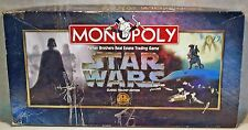 Monopoly Star Wars Classic Trilogy Edition 1997 COMPLETE (read description)
