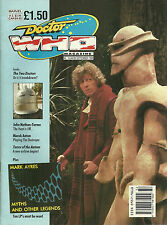 RARE Back Issue - DOCTOR WHO MAGAZINE #164 - September 1990 - TOM BAKER