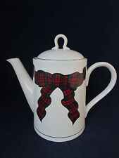 Arita China TARTAN PLAID Coffeepot