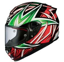 NEW OGK KABUTO RT33 VELOCE GREEN ORANGE XL Full face Helmet Japanese Model