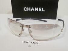 CHANEL 4060 Gray Silver Sunglasses Fashion Unisex Occhiali Sole NEW Original