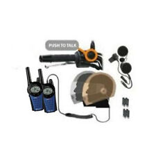 MOTORCYCLE MOTORBIKE 2 WAY COBRA RADIO INTERCOM 12km