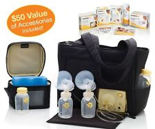 Medela Pump In Style Breastpump On the Go Tote Solution Set -New! Free Shipping!