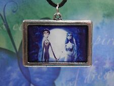 The Corpse Bride, Emily and Victor, Corpse Bride Necklace and Earrings Set