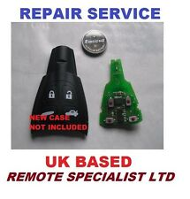 Saab 4 button Remote key fob Switches Replacement 93 Fault Fix Repair service
