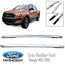 Grey Roof bar Rack Ford Ranger MK2 XLT PX2 UTE WILDTRAK RAPTOR 2015 16 17