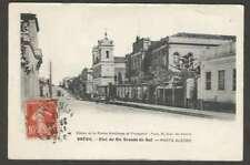 Brazil Postcard Porto Alegre Rio Grande Do Sul 1913 L@@K