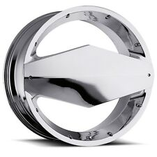 Vision Morgana 449 Chrome Wheel Rim Center Cap 22 Inch Only