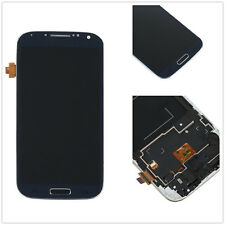 Full LCD Touch Screen Glass Digitizer Frame Assemblyb fr Samsung Galaxy S4 i9505