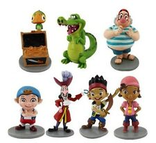 Lovely Cool Jake And The Neverland Pirates Figure Toys PVC 7 Pcs Free Shipping