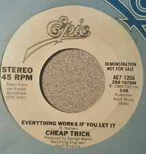 Cheap Trick – Everything Works If You Let It ~ Promo (M-)