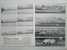 6/1977 ARTICLE 3 PAGES FAIRCHILD A-10 CRASHES AT LE BOURGET AIR SHOW
