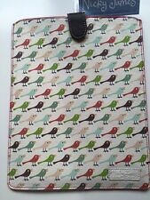 Nicky James Leather Birds iPad 2/3 Air   Case Cover