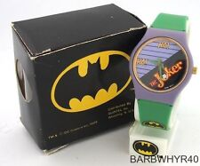 c.1989 wind-up The Joker from Batman Comic Character Watch in Original Box b1