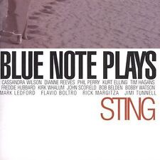 Various Artists, Blue Note Plays Sting Audio CD