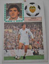 Cromo Liga 83-84. Ribes. Valencia C.F. Ediciones Este. Despegado