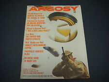Argosy Magazine for Men,September 1962,Modern Dillinger & His Arsenal of Crimes