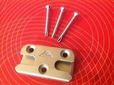 Roto 475626 Sicherheits-Schließblech Pilzkopf inkl. 3 Stck. Schrauben