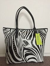 VERSACE JEANS Ladies Large Safari Zebra Print Bag BNWT RRP£120