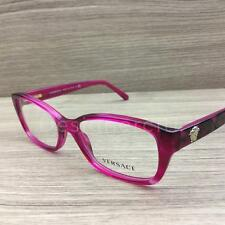 Versace 3207 Eyeglasses Cherry Pink 5132 Authentic 52mm