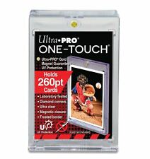 (1) Ultra Pro One Touch Magnetic Card Holder 260pt Super Thick Size w/ UV