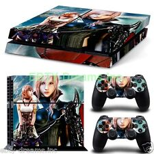 Final Fantasy 13 FFXIII FF13 Lightning Serah Skin Sticker Decal Protector PS4