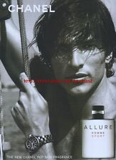 Chanel Allure Sport Fragrance 2004 Magazine Advert #714