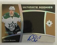 2015-16 Ultimate Rookies Devin Shore /149 Auto Jersey Upper Deck 15/16 SP