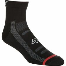 "Fox Racing Trail Sock 4"" Black L/XL"