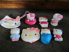 HELLO KITTY...lot of 8 items including purse, stamper, mirror +++ cute Kitty
