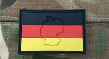 Embossed Germany German Flag Airsoft PVC Patch