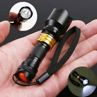 Mini CREE Q5 LED Flashlight Torch Lamp Light Waterproof Outdoor Camping Hiking