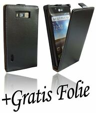 Custodia per Cellulare Accessori per LG Optimus L7 P700 nero Chic+