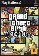 "Grand Theft Auto: San Andreas ""M"" Version (Sony PlayStation 2, 2005)untested"