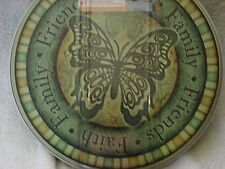 4 Butterfly Faith Family Friends Round STOVE Eye Range Cook TOP BURNER COVERS