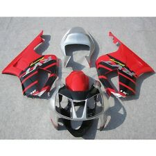 Red Silver Fairing Bodywork Kit For Honda VTR1000R RC51 SP1 SP2 00-06 01 02 3A