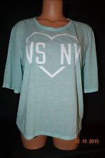 Victorias Secret Supermodel Essentials VS NY Tee T Shirt Top Crew NWT M