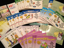 JUNK DRAWER LOT PET STORE BOOKS 51+PCS (OVER 15 LBS) RETAIL PRICE $6.95-$7.95 ea