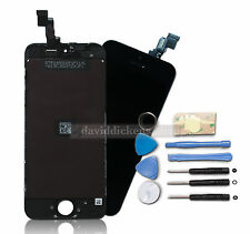 UK LCD Display Digitizer Touch Screen Frame Assembly For Black iPhone 5S