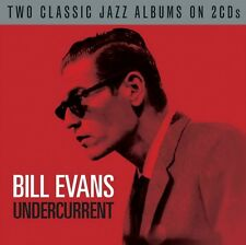 BILL EVANS - UNDERCURRENT - 2 CLASSIC JAZZ ALBUMS ON NEW SEALED 2CD