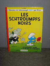 BD Dupuis  - PEYO -  N°1 -  Les Schtroumpfs Noirs