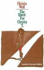 The Quest for Christa T. by Christa Wolf (1979, Paperback)