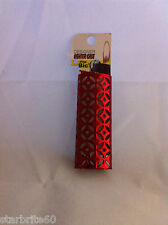 Designer Red Diamonds Metal Bic Lighter Holder Case Cover New